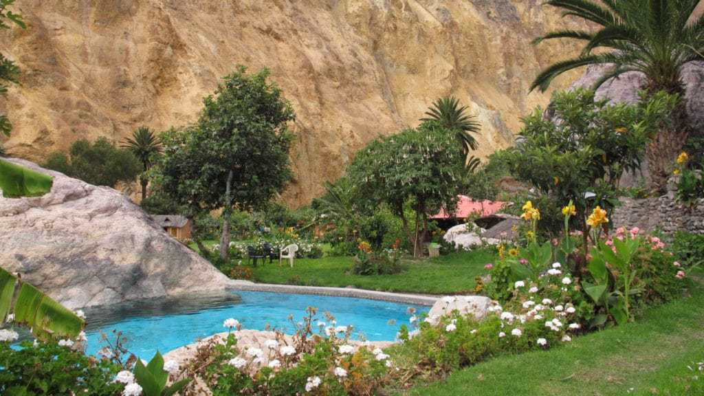 Accommodation during the Colca Canyon Trek