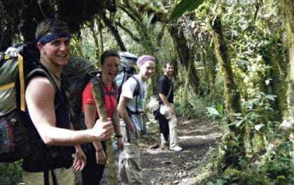 Hiking the Inca Jungle Trail to Machu Picchu