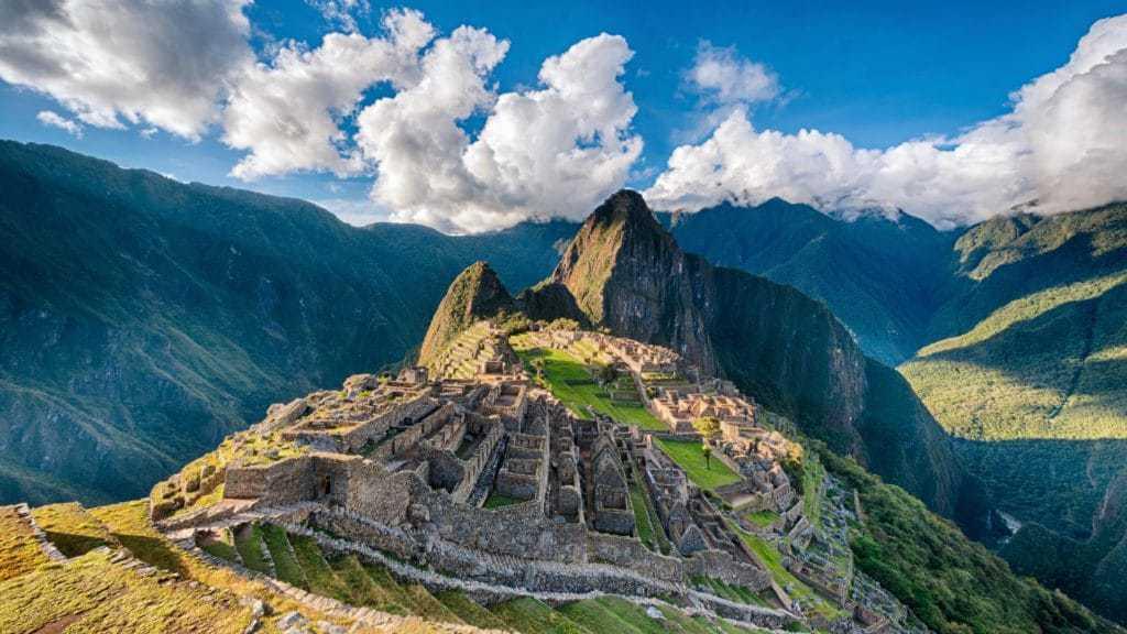 original Machu Picchu trip in Peru