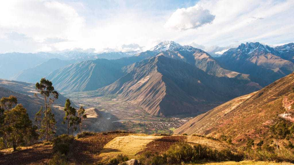 Machu Picchu and Sacred Valley Tour from Cusco - View of the Sacred Valley