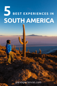 Let experiential travel be one of your resolutions for 2017. 5 incredible travel experiences in South America!