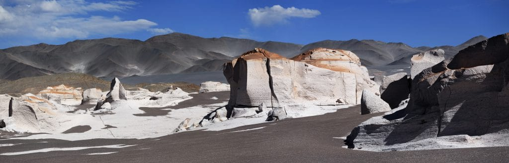Piedra pómez desert at northern Argentina trips