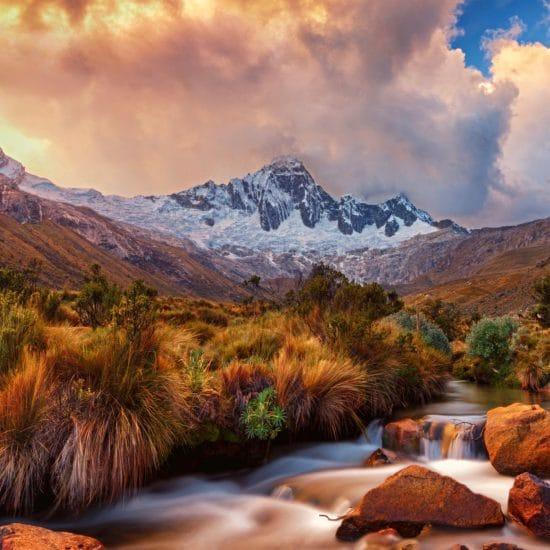 Santa Cruz trek in Huaraz , Peru