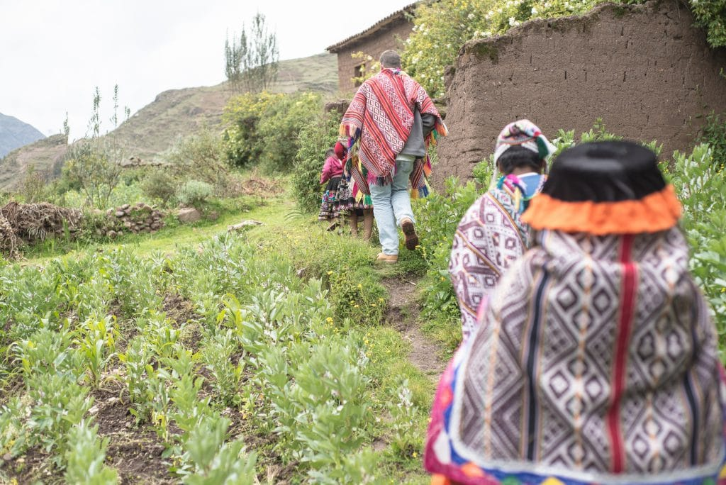 Peruvian Weaving - Exploring the Garden in the Sacred Valley
