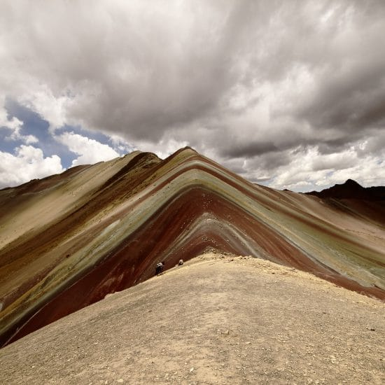 Rainbow mountain during Ausangate trek