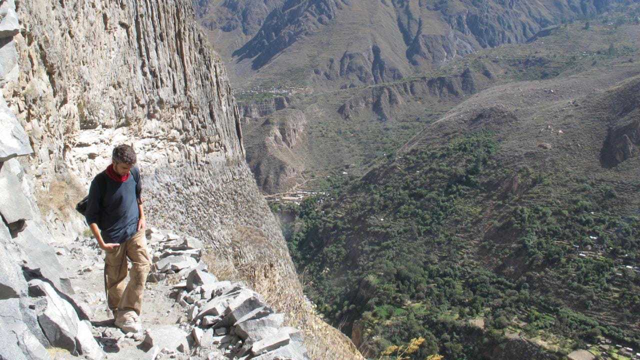 Views from Colca Canyon Trek in Arequipa