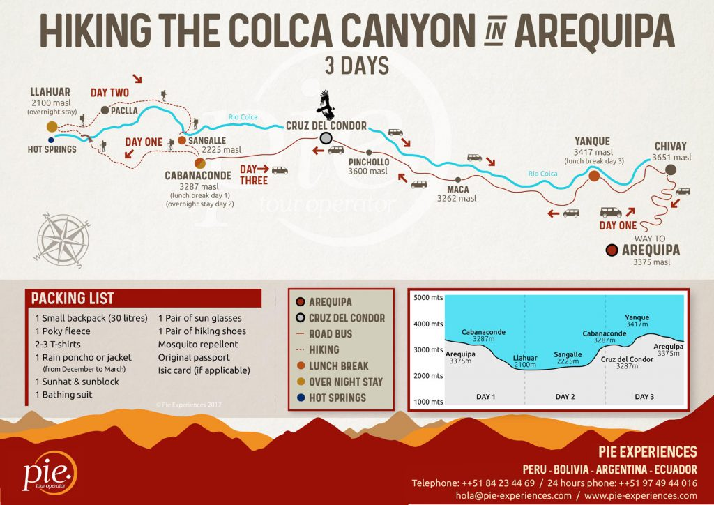 Colca Canyon Tour  Day