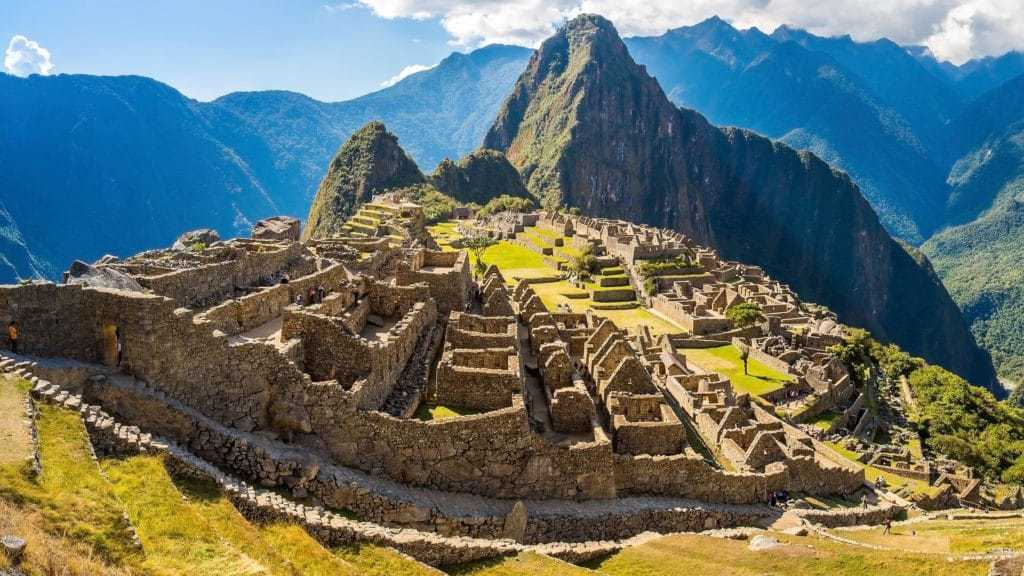 An early arrival at Machu Picchu after a luxury Salktany Trek