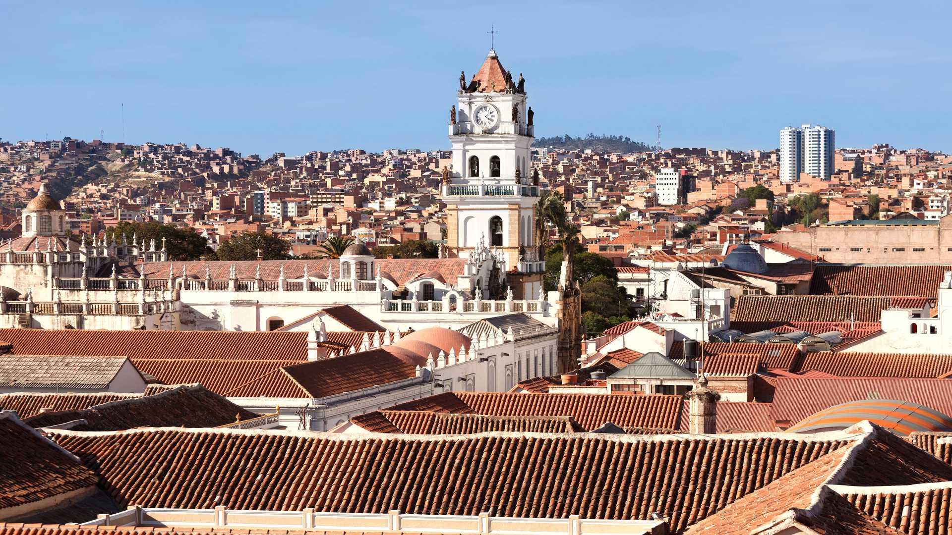 Sucre city tour in Bolivia
