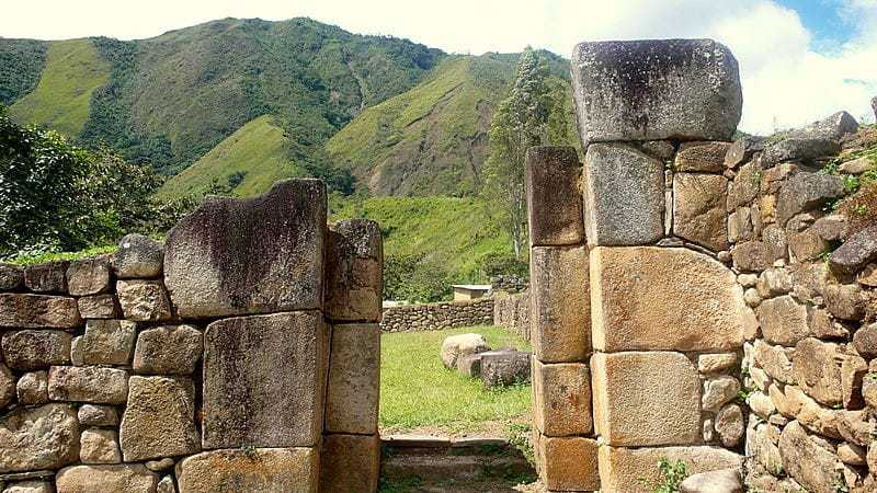 Ancient Ruins on the Inca Jungle Trail