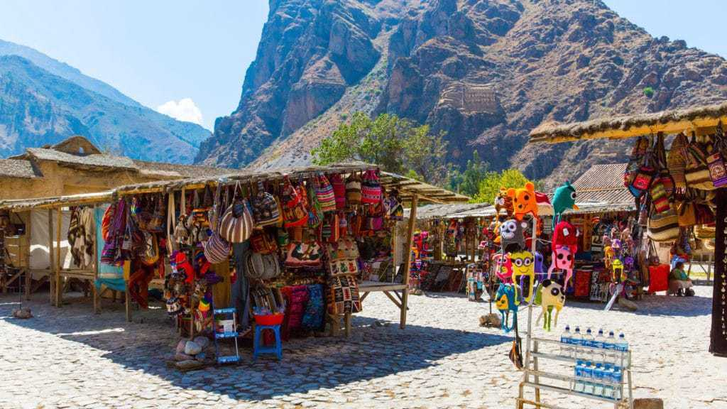 Things to do in Sacred Valley - Ollantaytambo market.