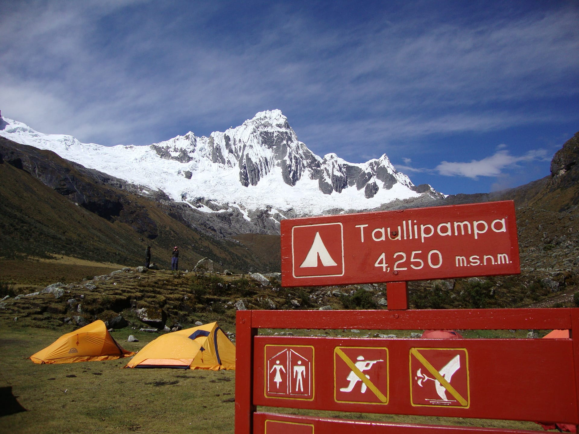 chaullipampa base camp-santa cruz trek