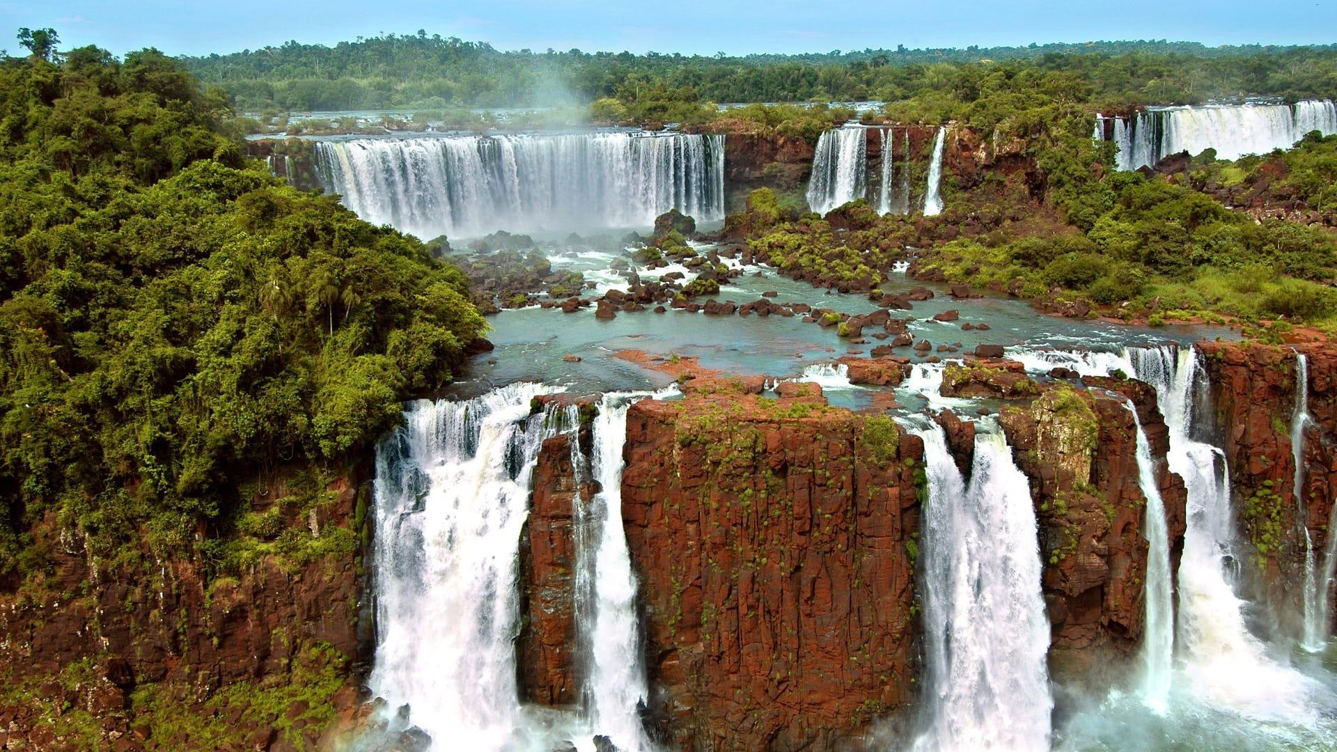 Iguazu waterfalls (Argentina and Brazil)