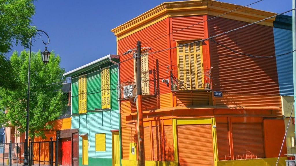 Caminito in Buenos Aires