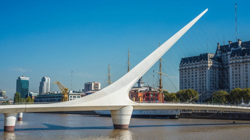 Puerto Madero in Buenos aires