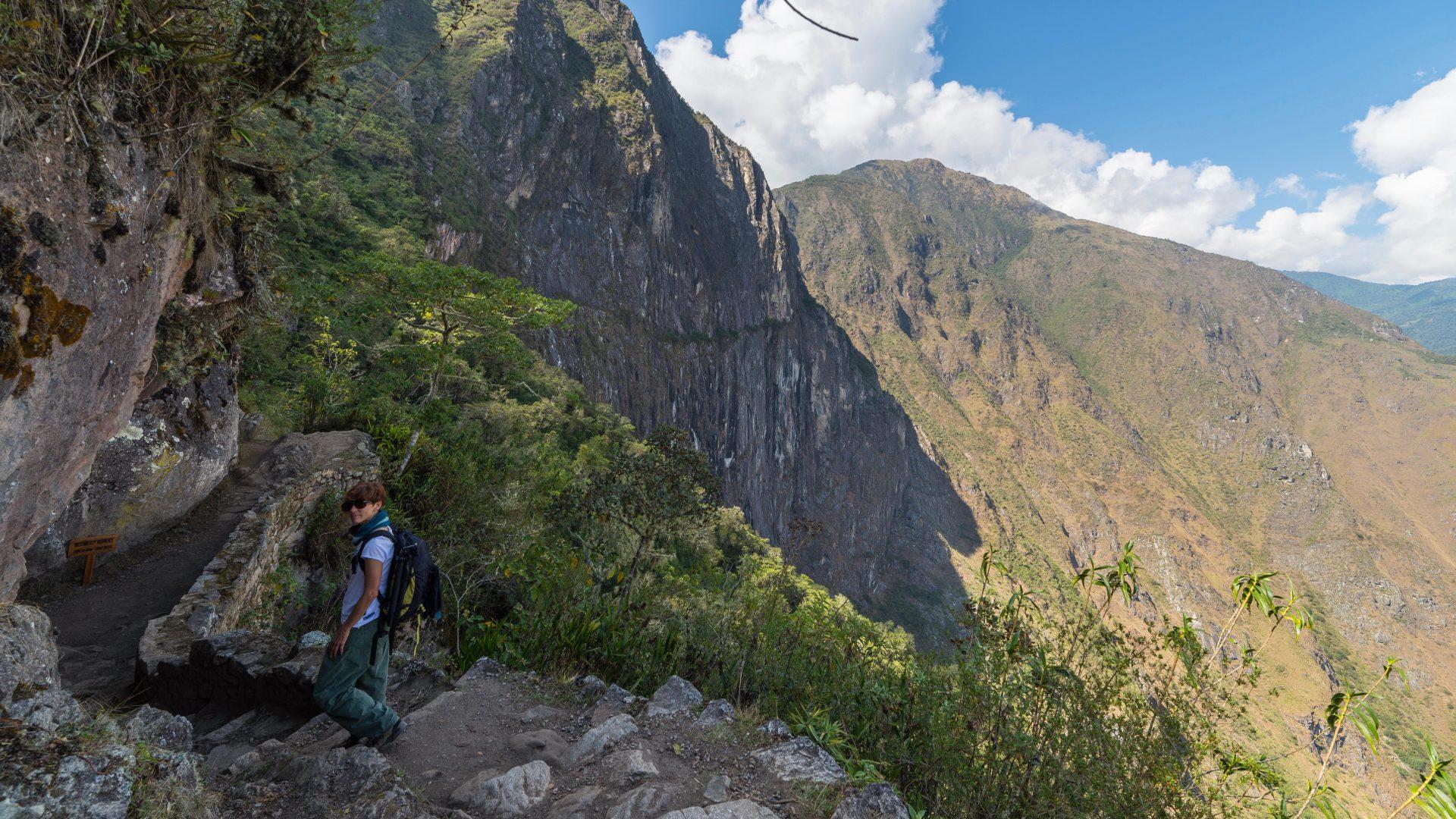Machu Picchu from sungate