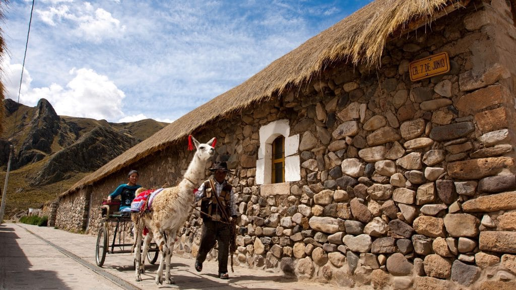 rural tourism in Peru - Sibayo