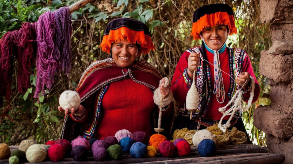 Weaving experience in Cusco