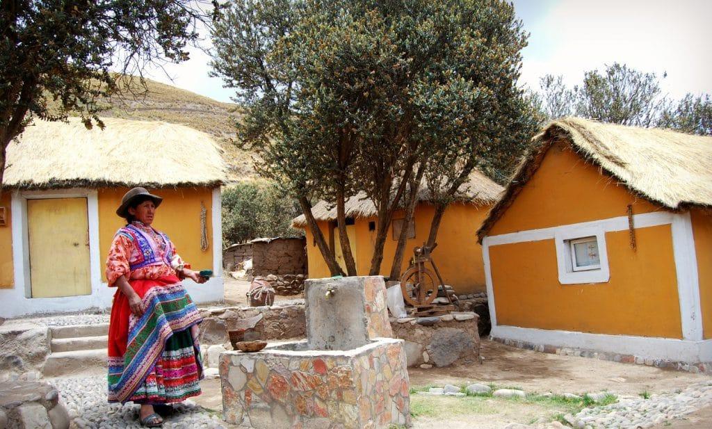 Casa señora Nieves en Sibayo