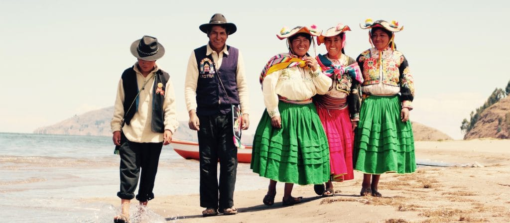 Community based tourism on titicaca lake