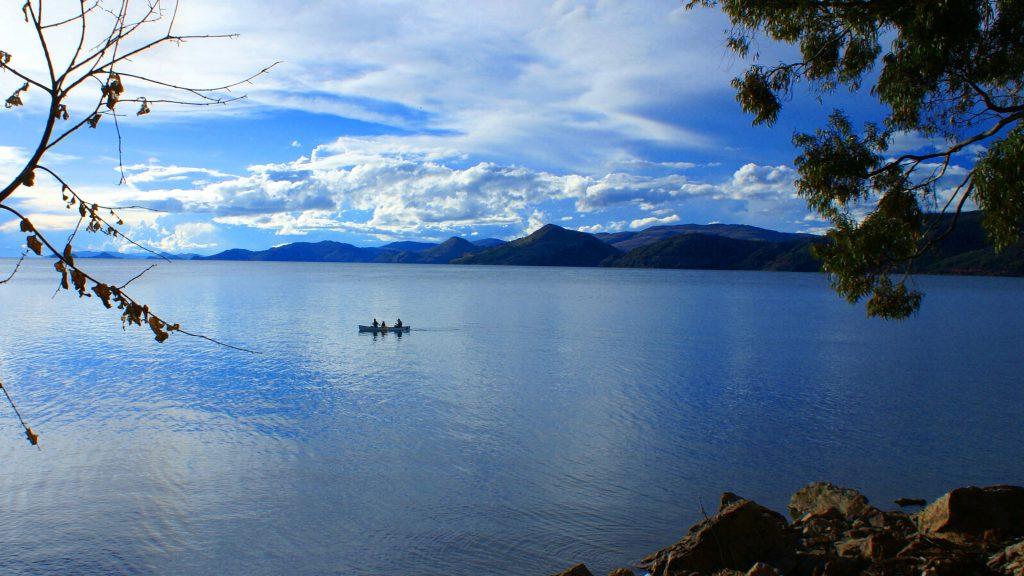 fishing at lake titicaca