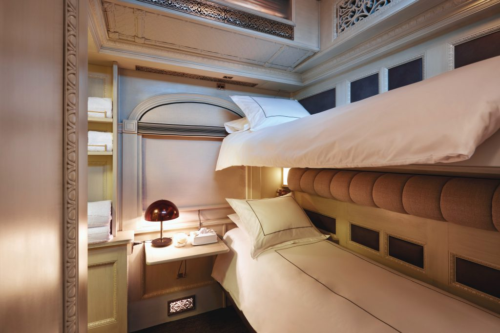 Bunk bed - Belmond Andean Explorer