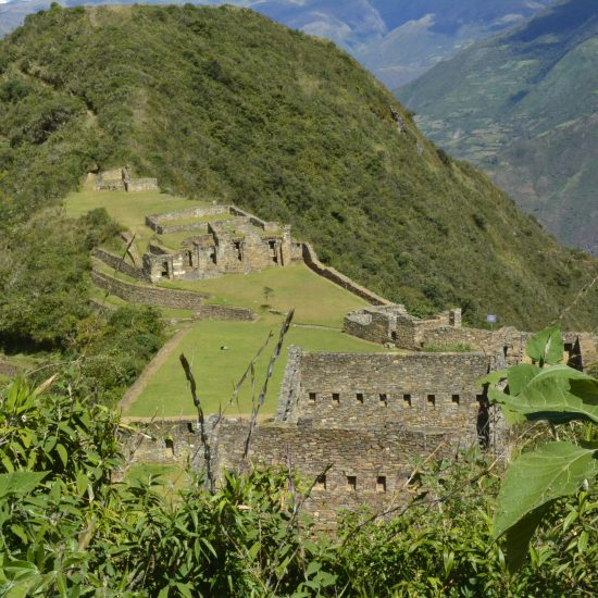 Hiking choquequirao trek
