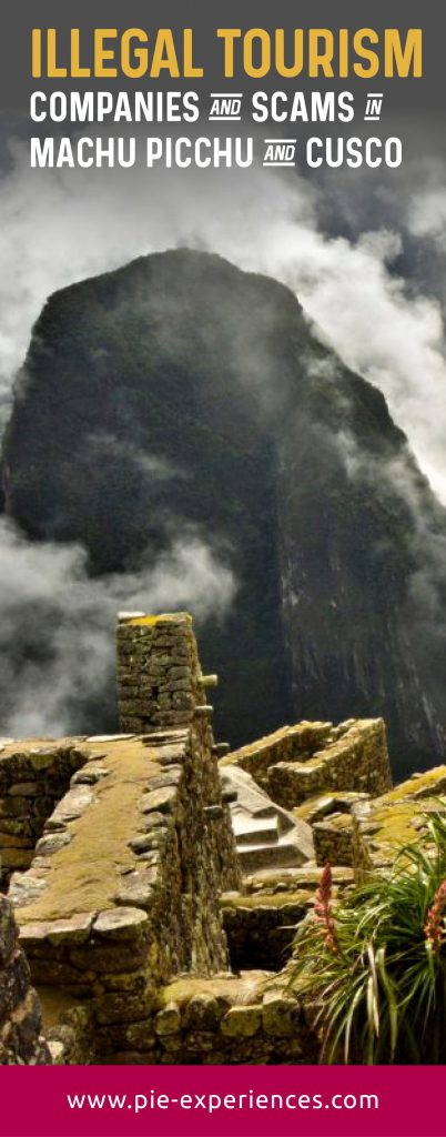 Scams in Machu Picchu - Pinterest image