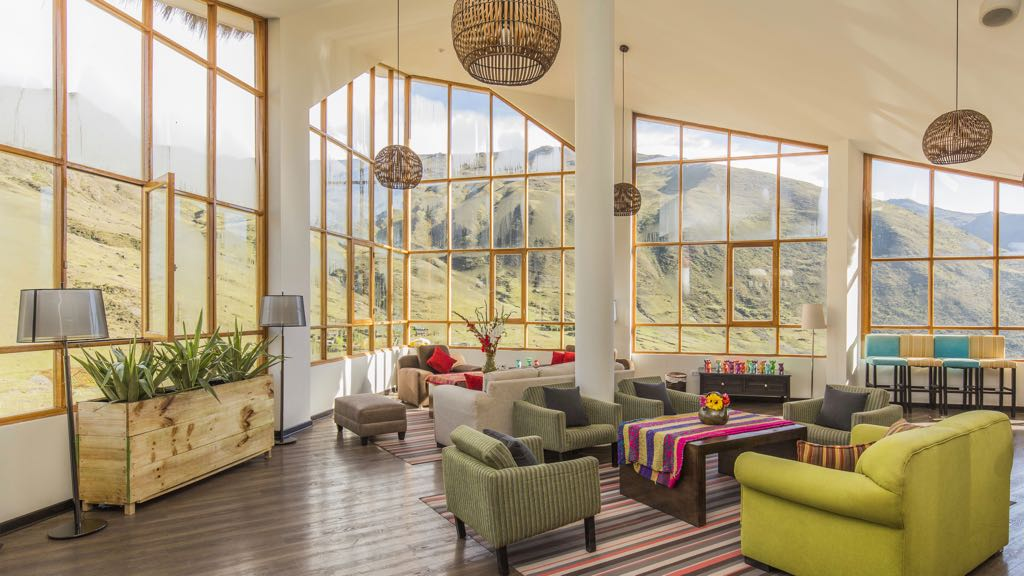 Living room on Lares trek