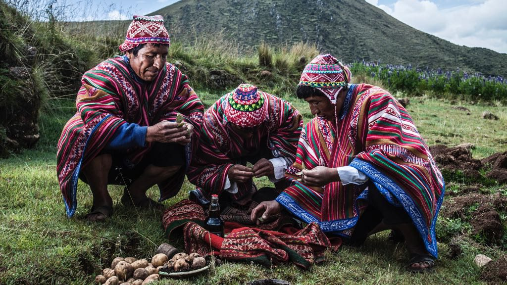 Local cuisine on Lares Trek
