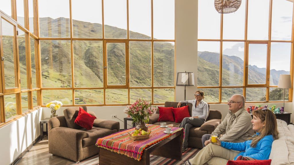 Lodge on luxury Lares Trek
