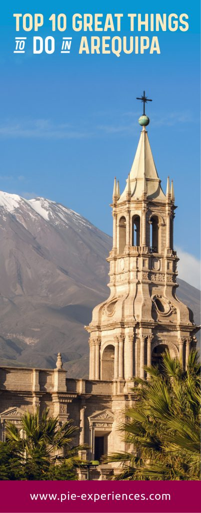 Arequipa Travel Guide - Pinterest image
