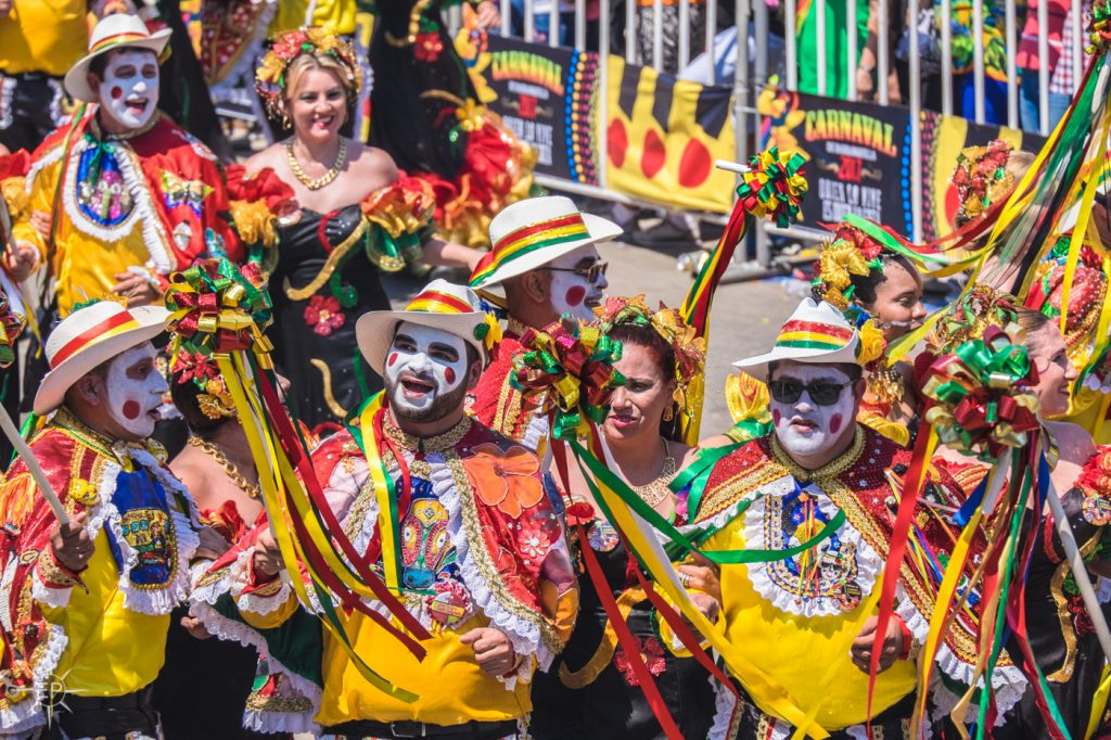 Colombia travel guide - Carnival in Barranquilla.