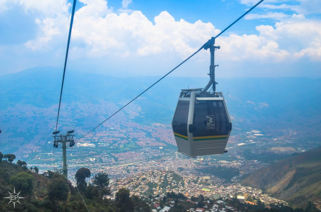 Colombia travel guide - Medellin's Metrocable.