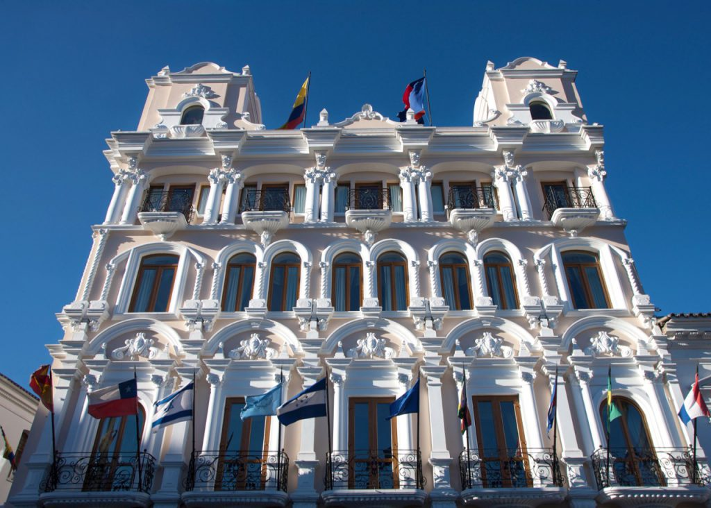 Ecuador Cruise Train - Hotel Plaza Grande, Quito