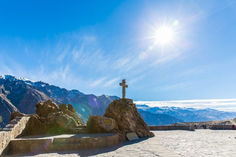 Condor Cross in Colca Valley