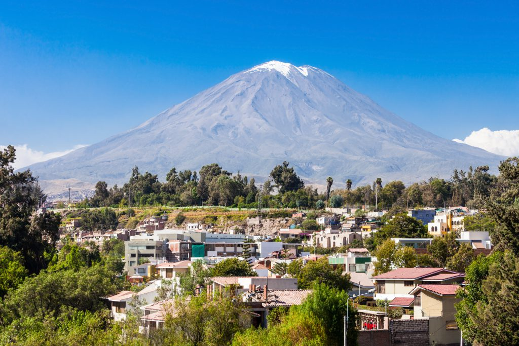 Arequipa Travel Guide - Misti Volcano