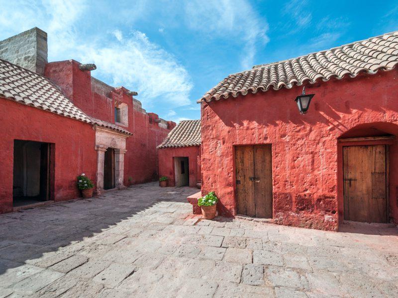 Santa Catalina convent in Arequipa