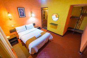 Colca Canyon trek - Kuntur Wassi Hotel room.