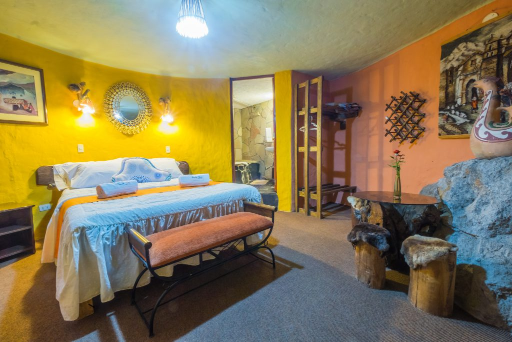 Colca Canyon Trek - Kuntur Wassi matrimonial room.