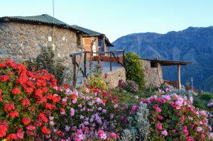 Colca Canyon trek - La Granja del Colca Hotel.
