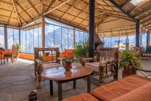 Colca Canyon trek - La Granja del Colca restaurant.