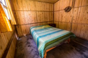 Colca Canyon trek - Llahuar Lodge room.