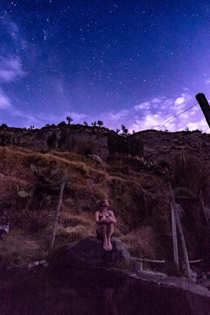 Homestay tours in Colca Canyon - Under a starry sky.