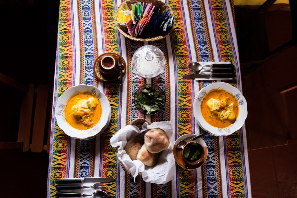 Homestay tours in Colca Canyon - Lunch at Casa Bella Flor.
