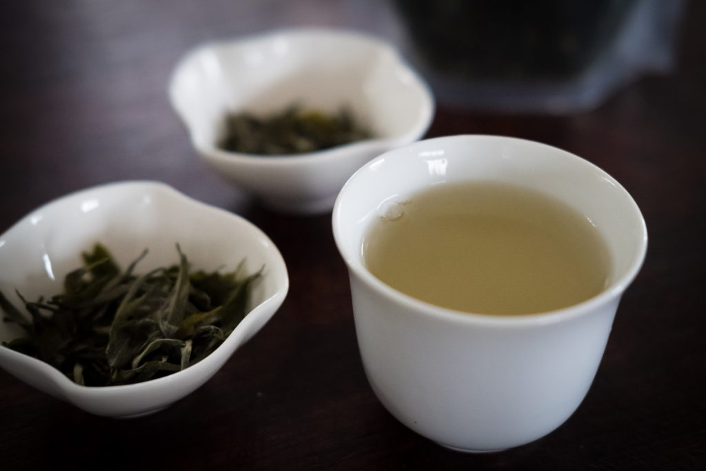 New Inca Trail to Machu Picchu, Carcel Trek - Fresh tea