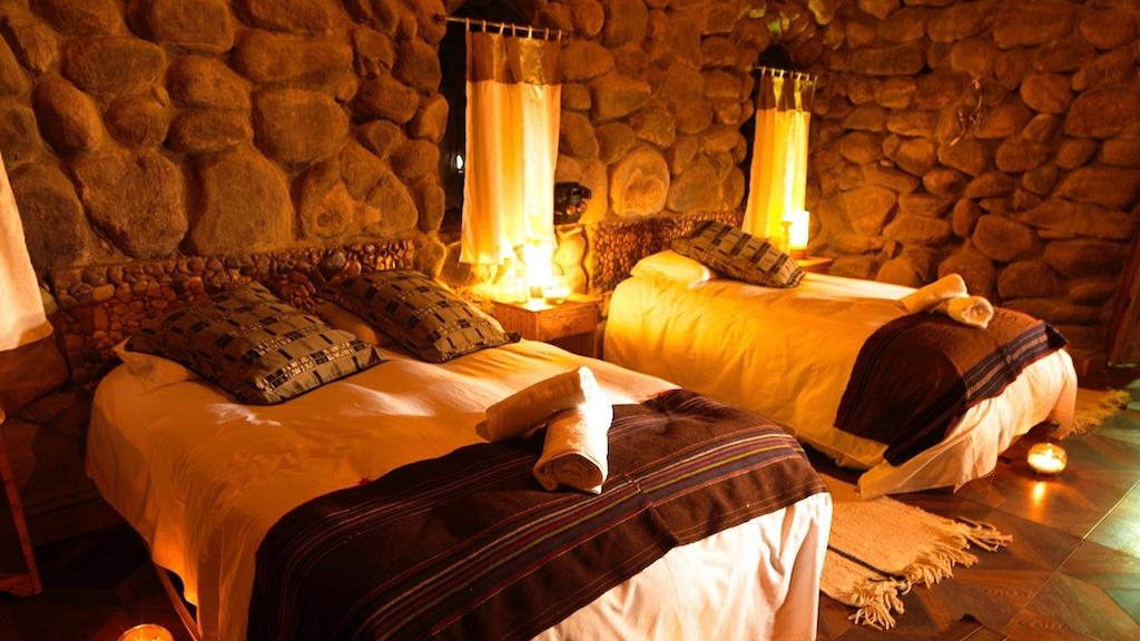 Tambo Coquesa bedrooms with heating - Uyuni Trip