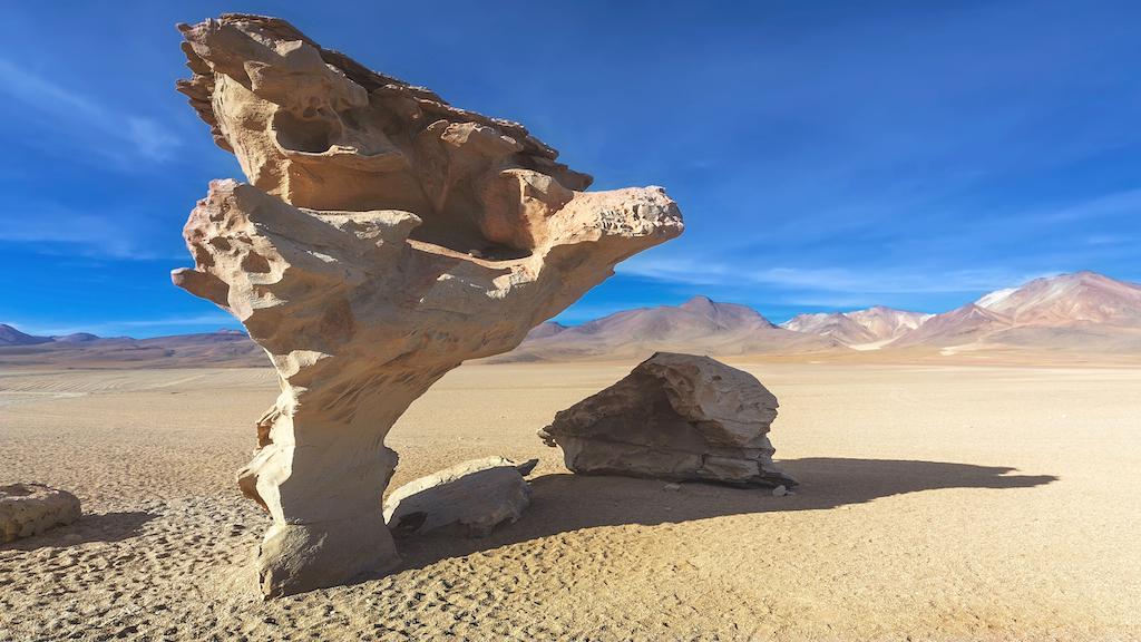 Stone tree, Altiplano, Arbol de piedra -Bolivia